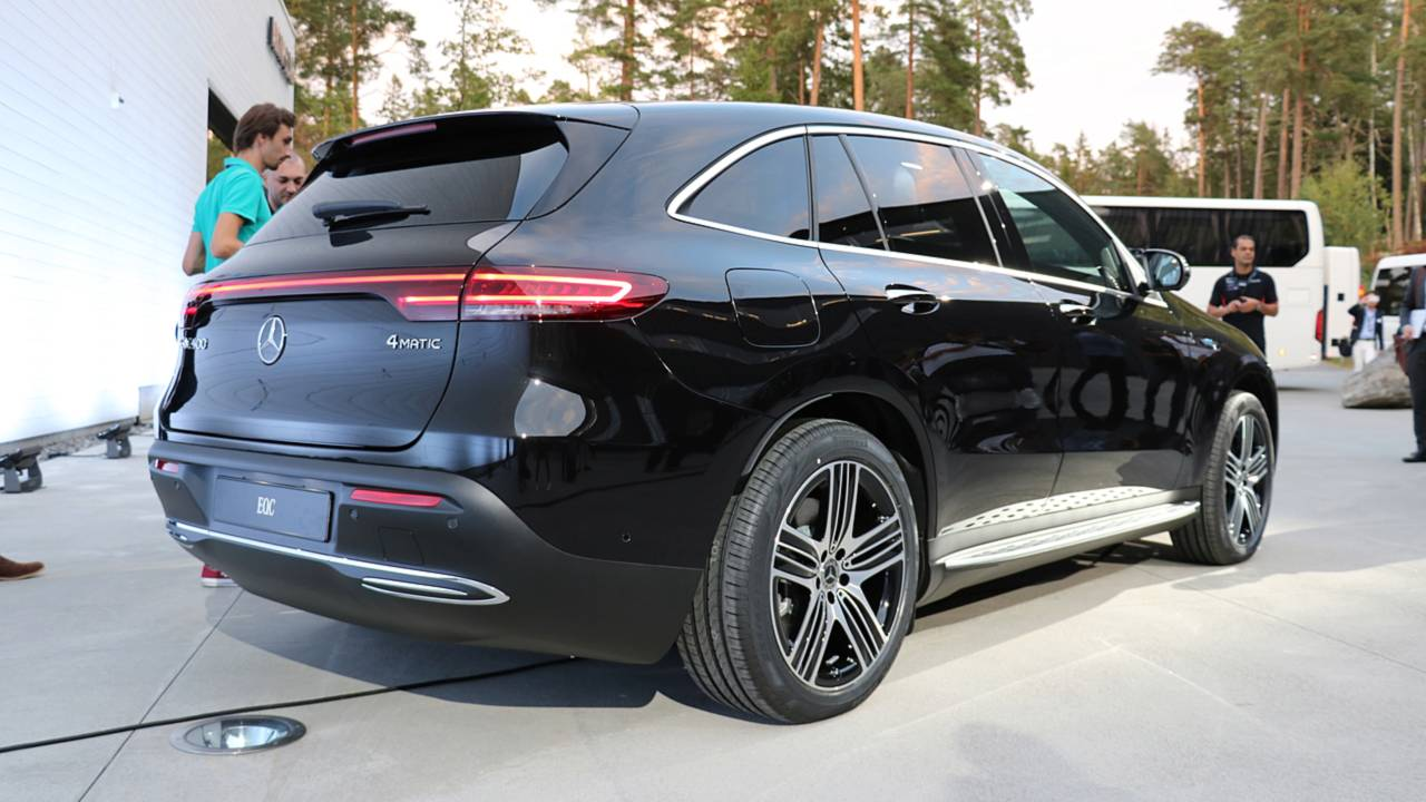Mercedes EQC Live Pictures