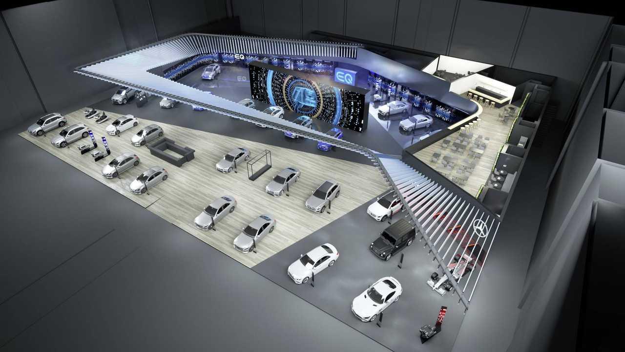 Mercedes at the 2018 Paris Motor Show