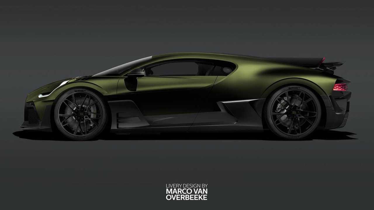 Bugatti Divo Liveries