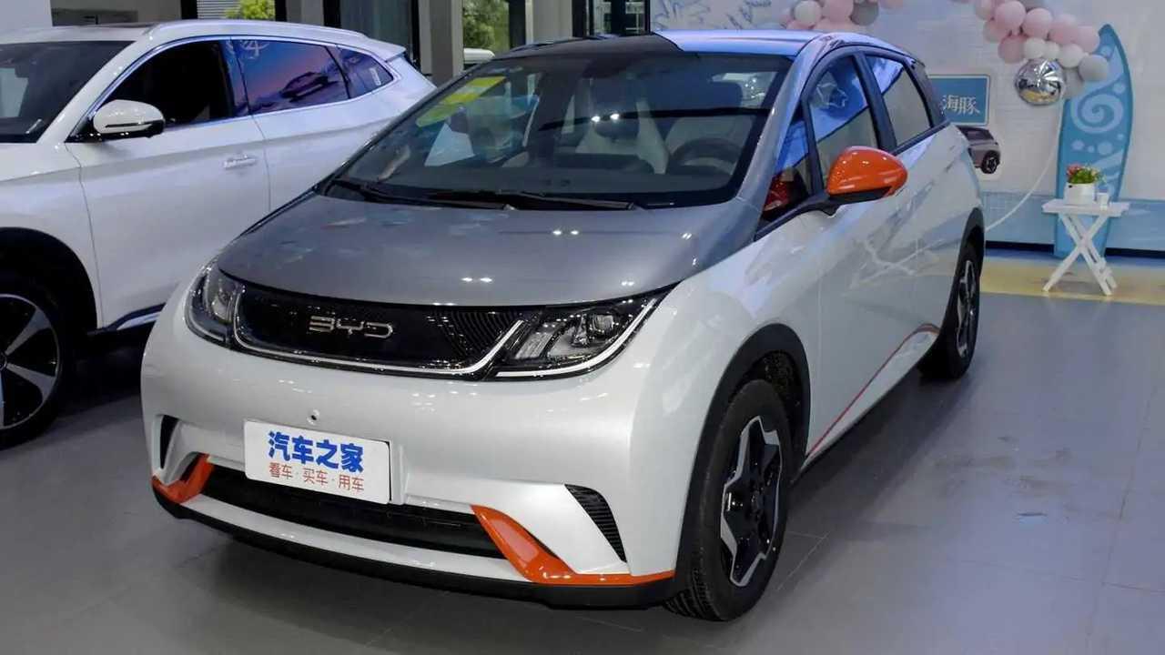 BYD Dolphin, coche eléctrico barato chino