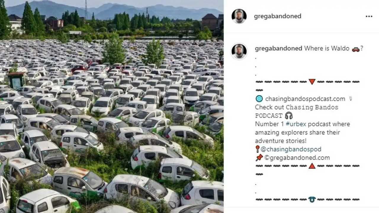 Il cimitero di auto elettriche