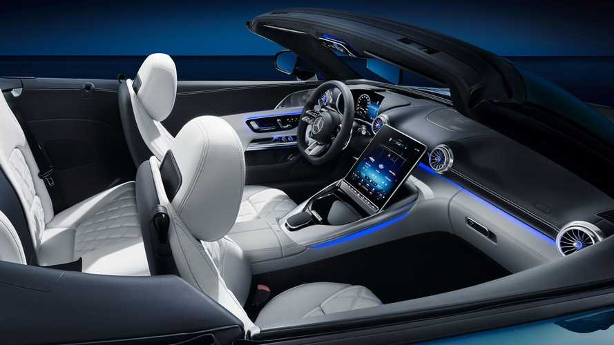 Mercedes-AMG SL (2022) Innenraum