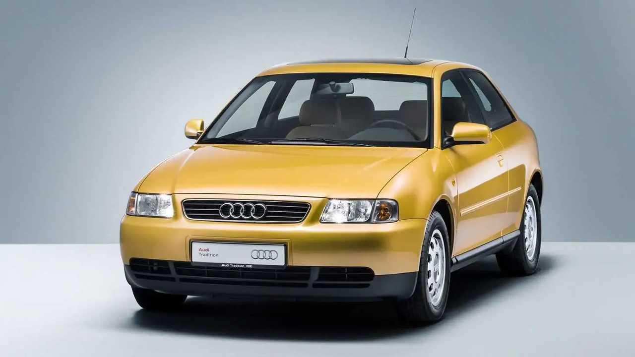 Der erste Audi A3 kam zunächst nur als Dreitürer auf den Markt
