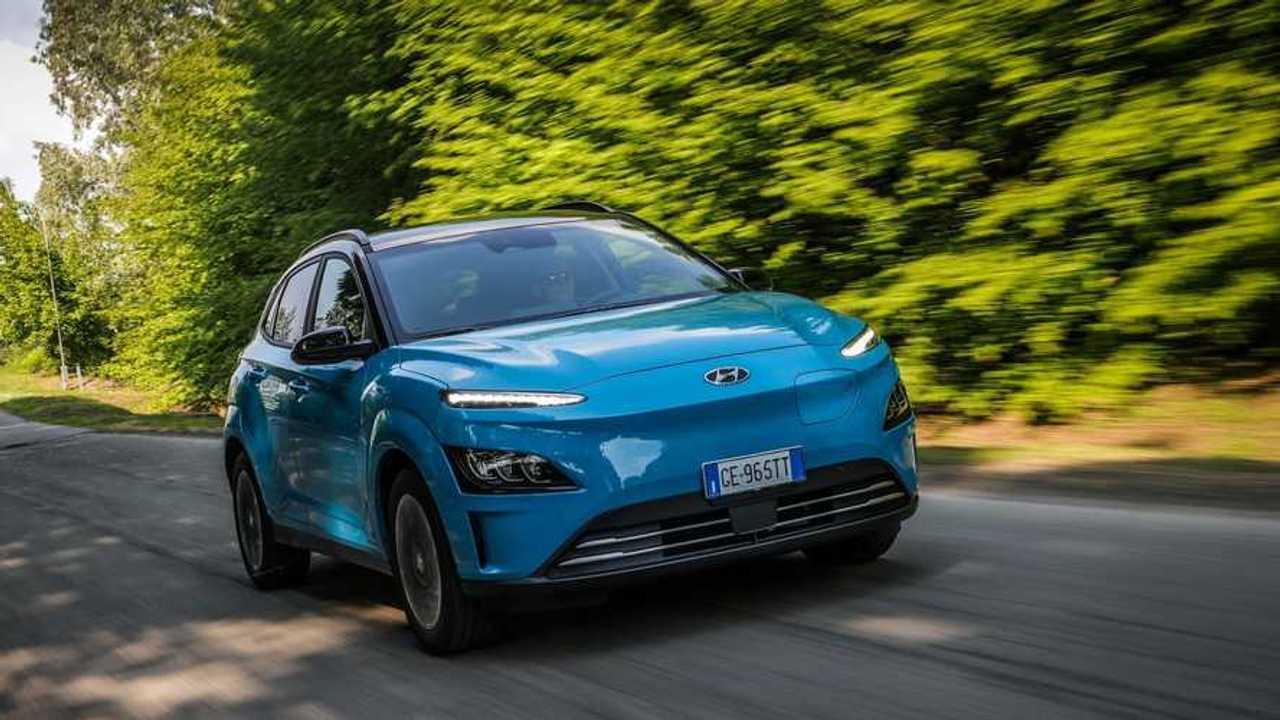 Hyundai Kona Electric test drive