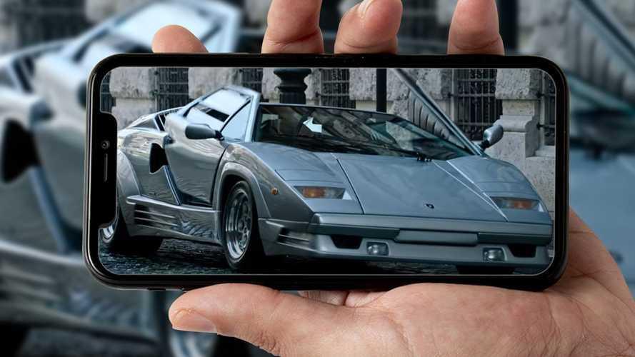 Lamborghini Countach stars in 'House Of Gucci' trailer