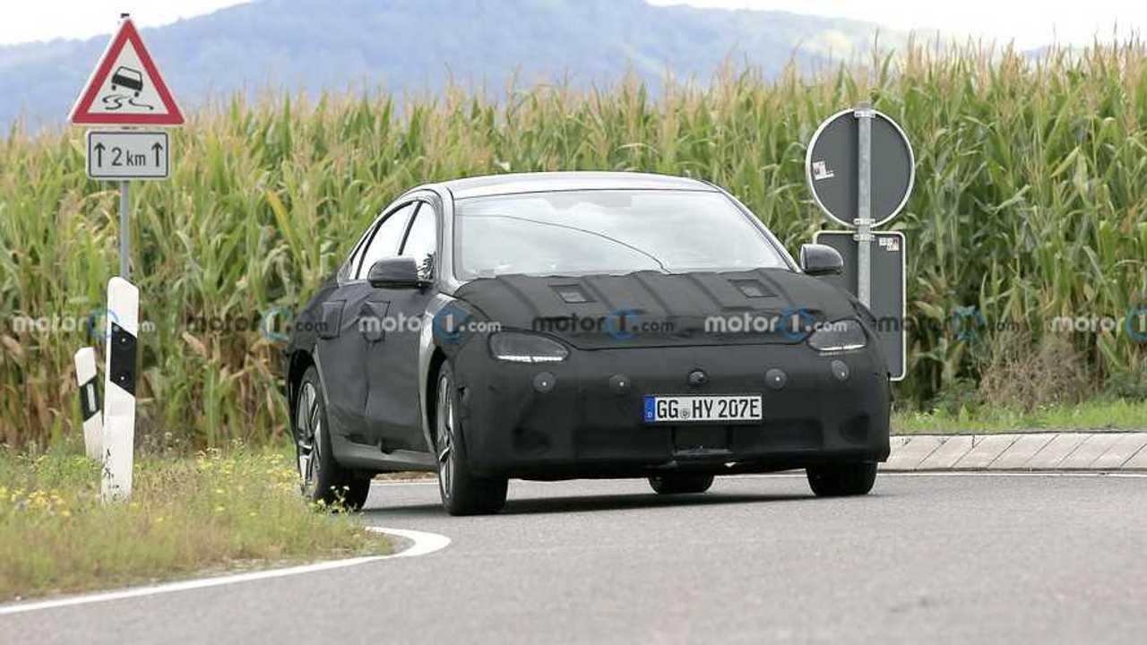 2023 Hyundai Ioniq 6 Front View Spy fénykép