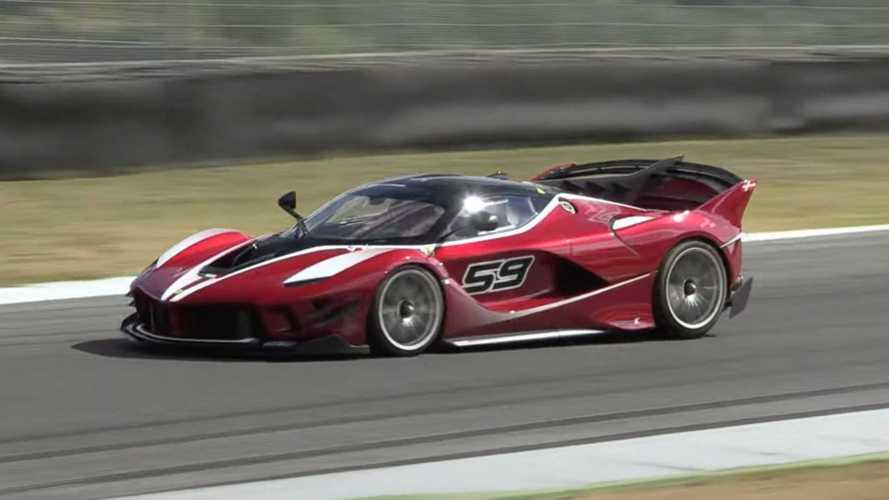 Ferrari FXX K Evo Spotted At Mugello Making Wonderful V12 Music