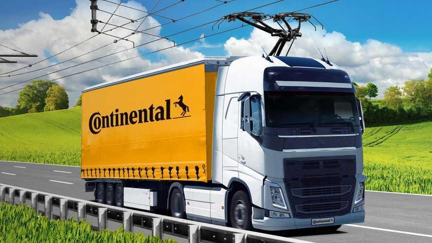Camion elettrici, Continental e Siemens insieme per la rete aerea