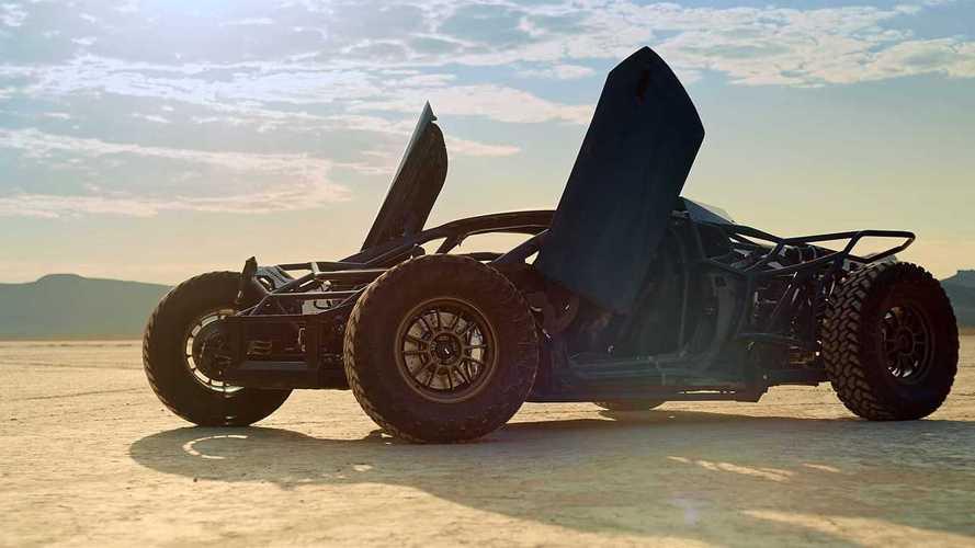 Ver para creer: esta bestia off-road es un Lamborghini Huracán