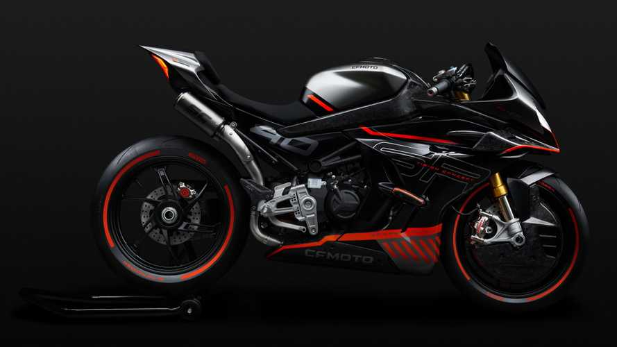 Is CFMoto working on a high-performance sportbike?