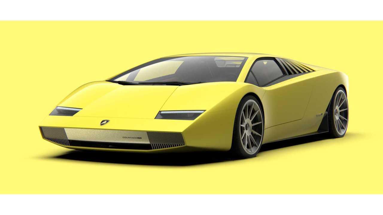 А что, если бы Lamborghini возродила Countach?