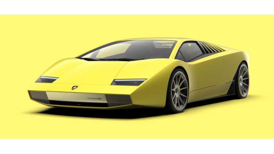 Lamborghini Countach наших дней: чудесное воскрешение на рендерах