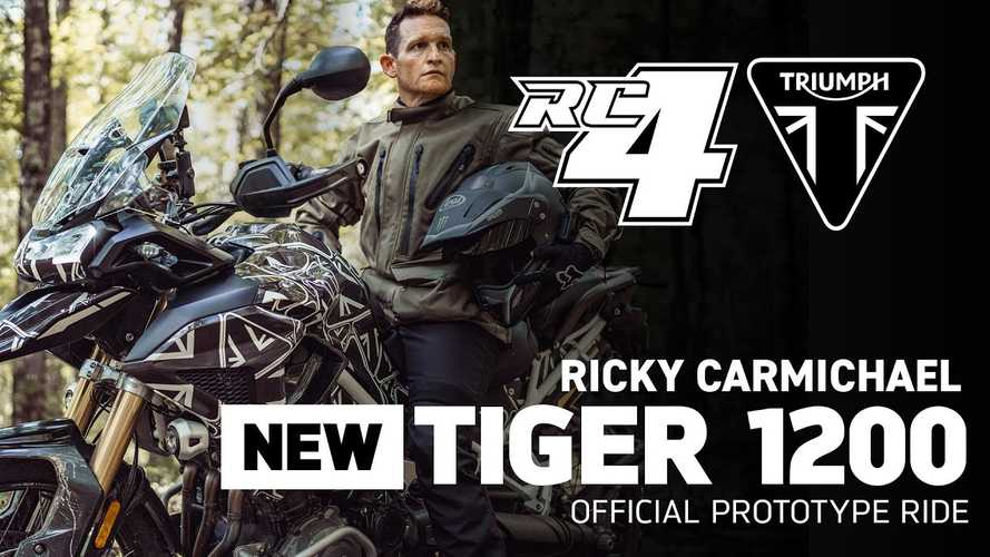 Triumph Enlists Ricky Carmichael To Show Off New Tiger 1200 In Action
