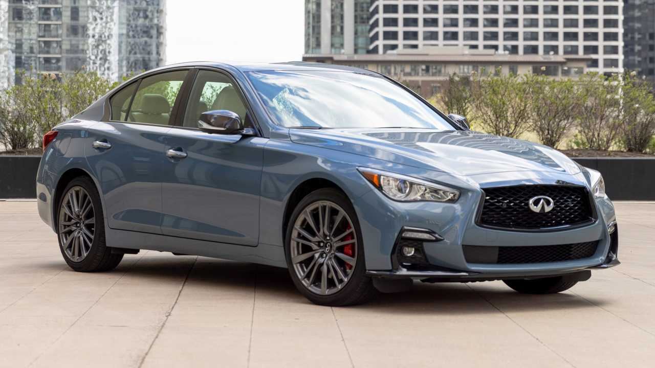 Infiniti Q50 unveiled for 2022 MY