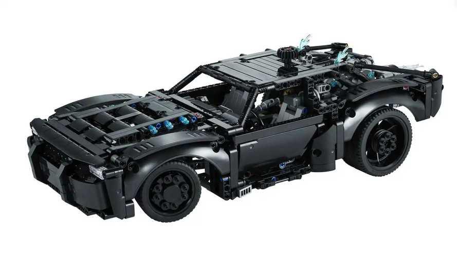 El Batmobile de Lego Technic Kit
