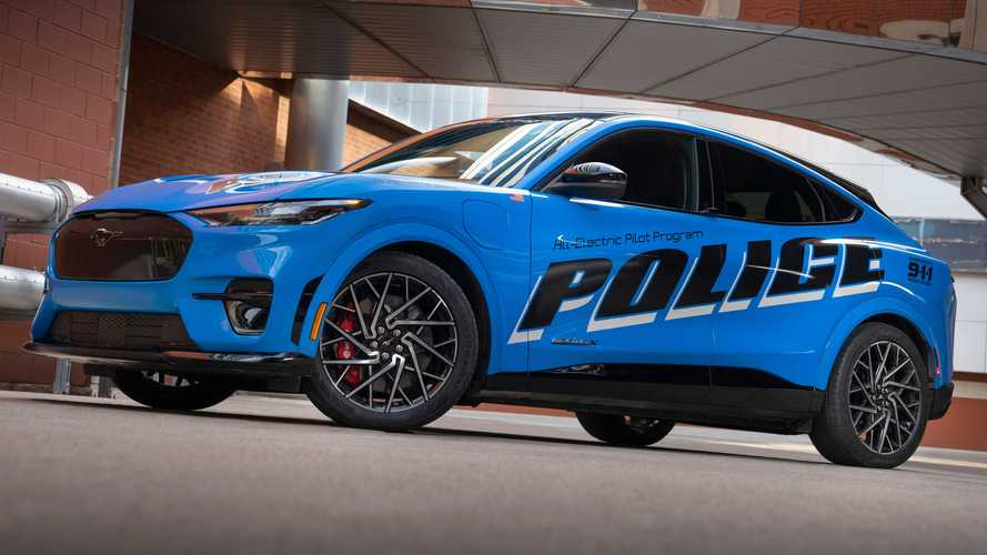 Ford Mustang Mach-E Is First EV To Pass Michigan Police Tests