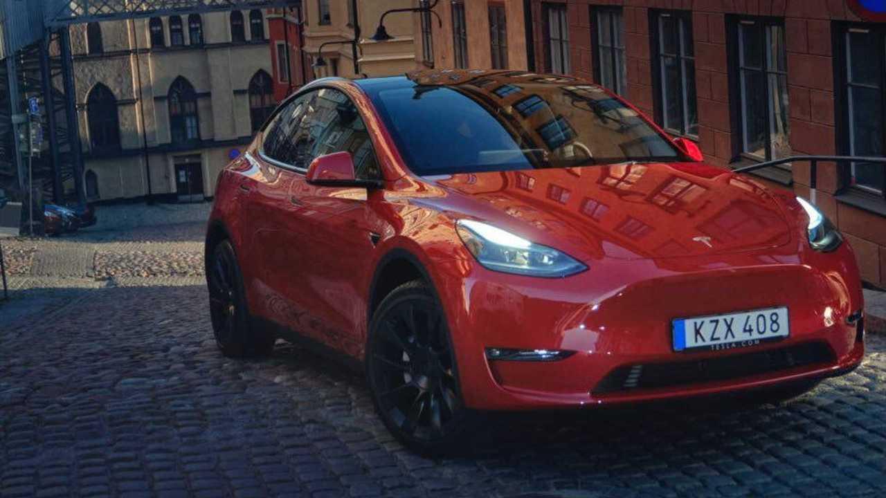 Tesla Model Y in Europe