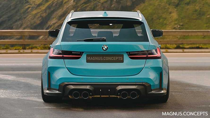 Render del BMW M3 Touring