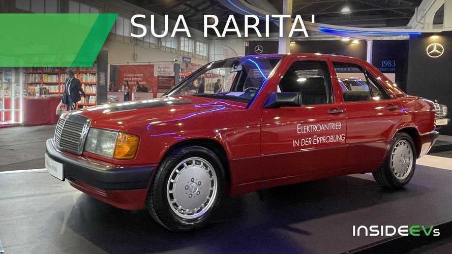 La Mercedes elettrica molto prima delle EQ, la 190e Elektro in video