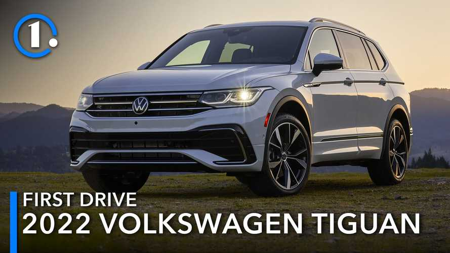 2022 Volkswagen Tiguan First Drive Review: Stick To Your Guns