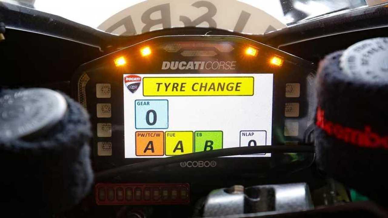 MotoGP Onboard Messages