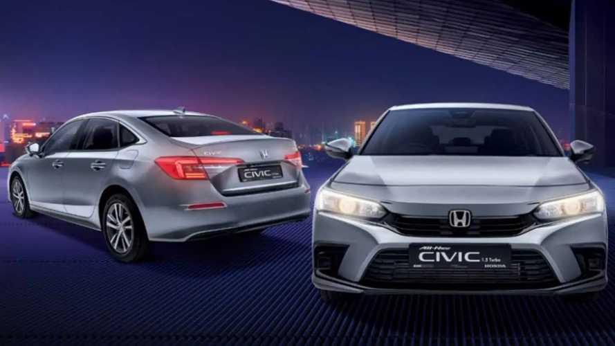 Novo Honda Civic - Singapura
