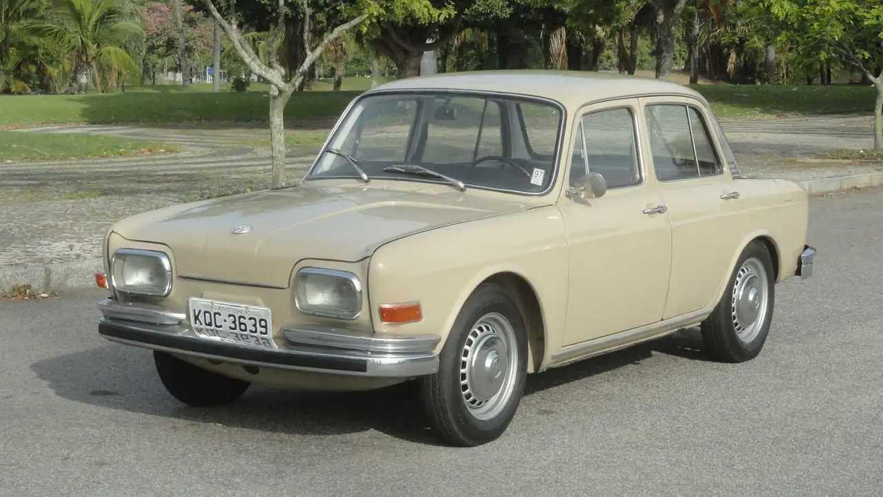 Der VW-1600 trägt in Brasilien die Spitznamen