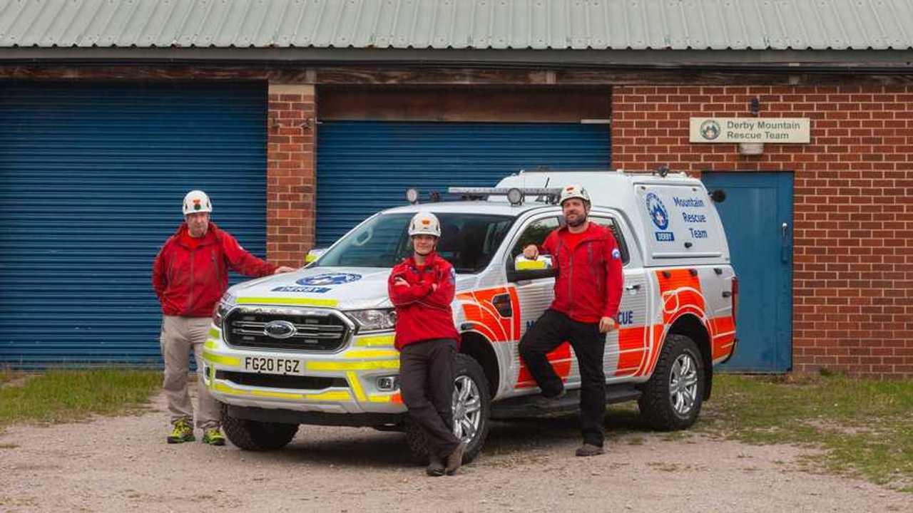 I medici volontari del soccorso alpino in UK