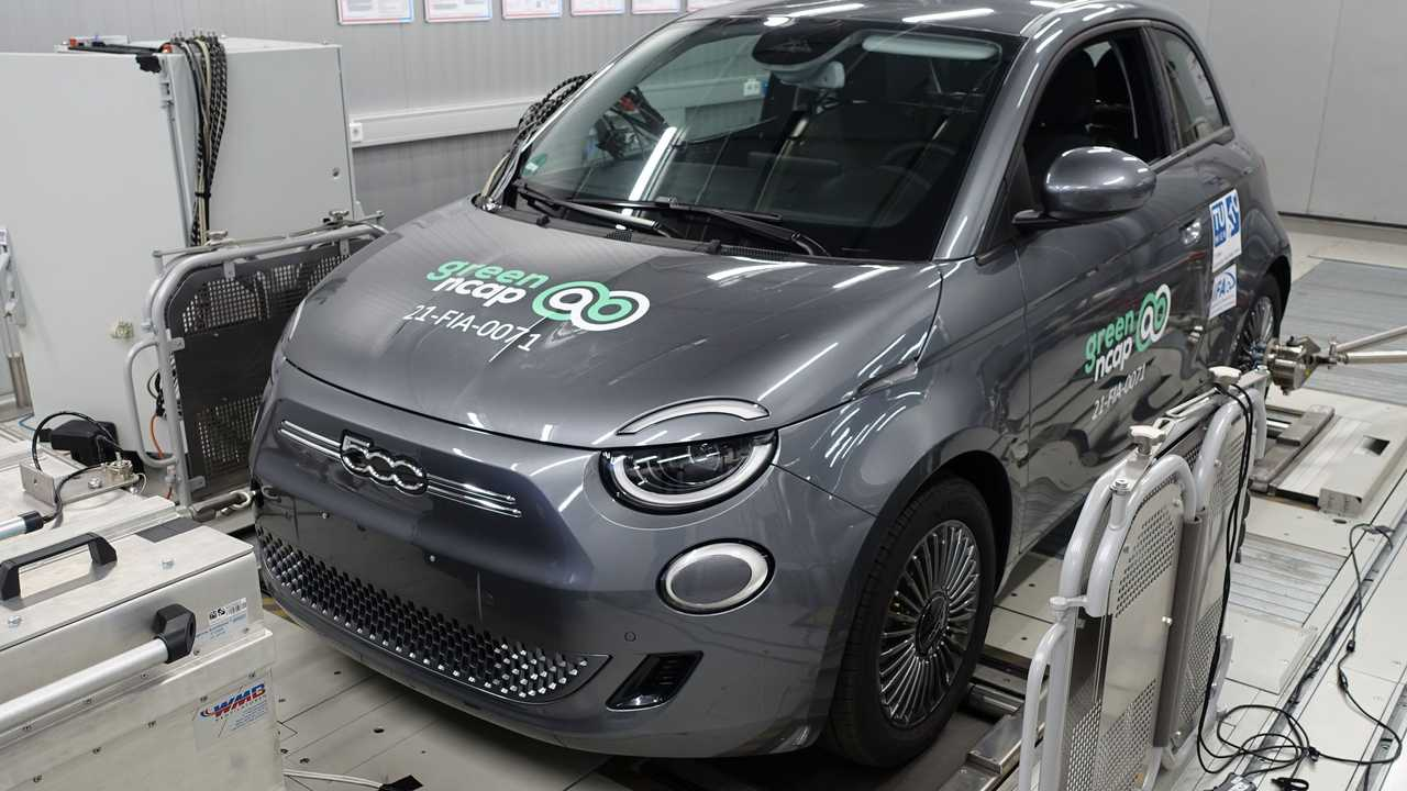 Fiat 500 ai test Green NCAP