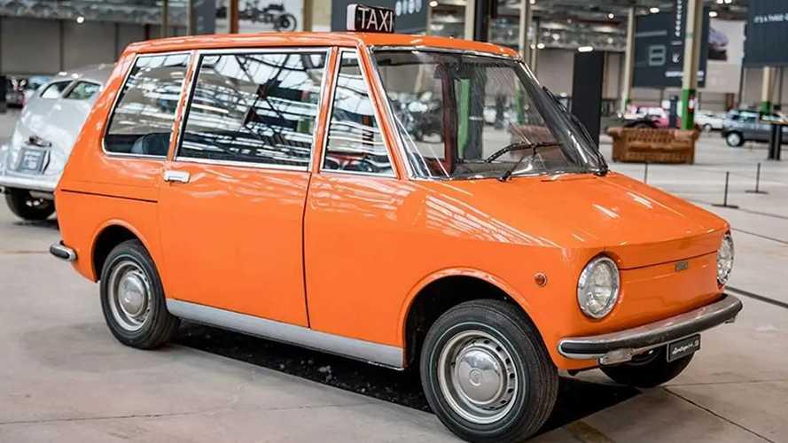 Fiat 850 City Taxi concept, un concentrato di sicurezza