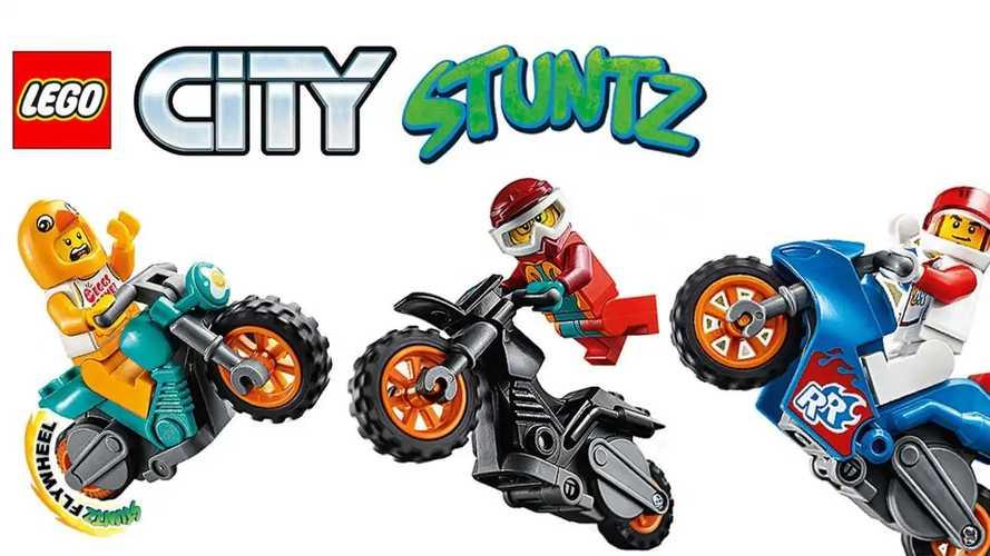 LEGO Debuts New City Stuntz Figures With Flywheel Motorcycles