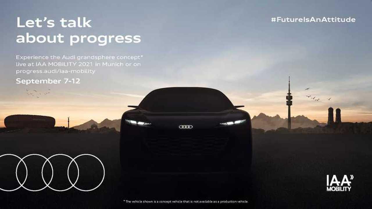 New Audi Grandsphere Concept teaser.