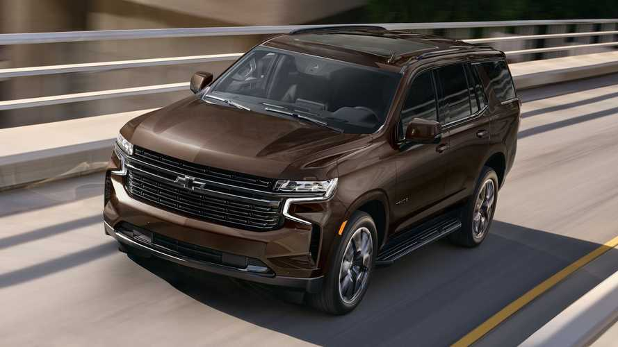 2022 Chevy Tahoe, Suburban Offer Big 6.2-Liter V8 On More Trims