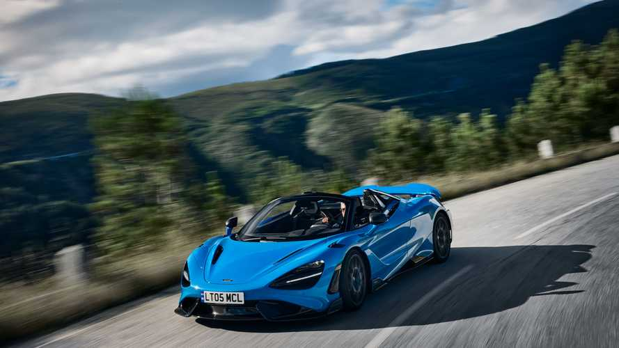McLaren tarihinin en hızlı convertible'ı: 765LT Spider!