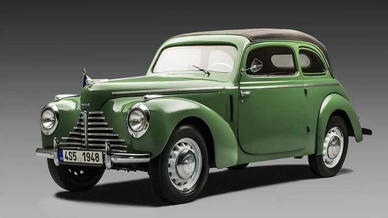 Der Skoda 1101 Tudor kam 1946 auf den Markt