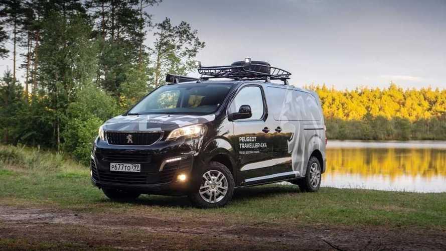 Спецверсия Peugeot Traveller для путешествий