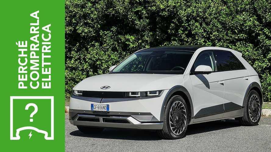 Hyundai Ioniq 5, perché comprarla elettrica e perché no
