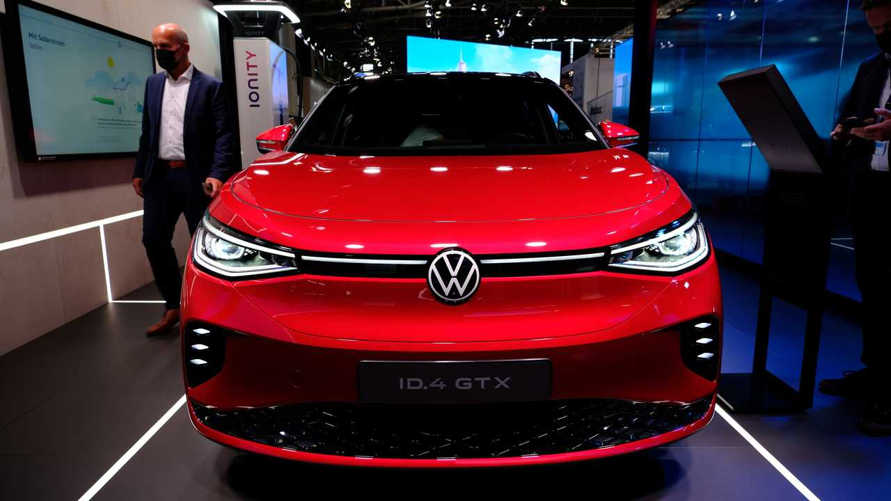 Volkswagen ID.4 GTX at IAA 2021