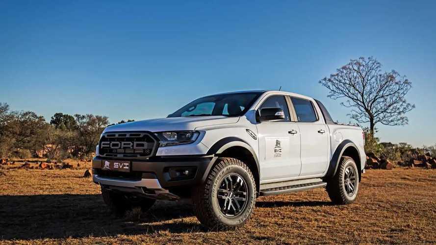 Ford Ranger Raptor, SVI lo ha reso a prova di proiettile