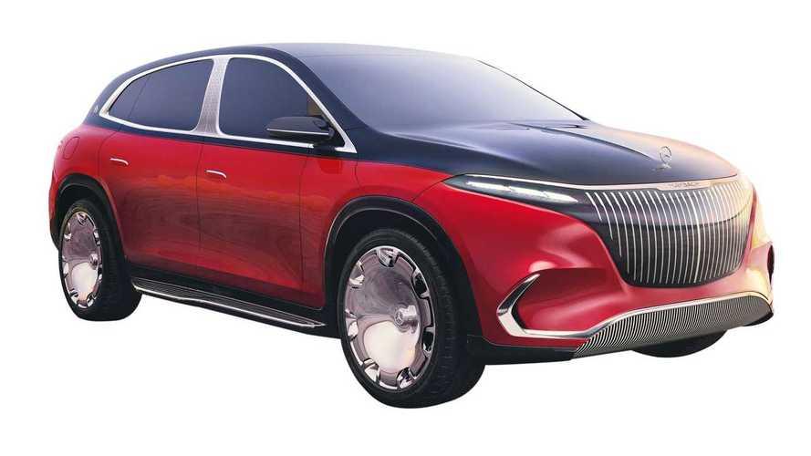 Концепт Mercedes-Maybach EQS SUV