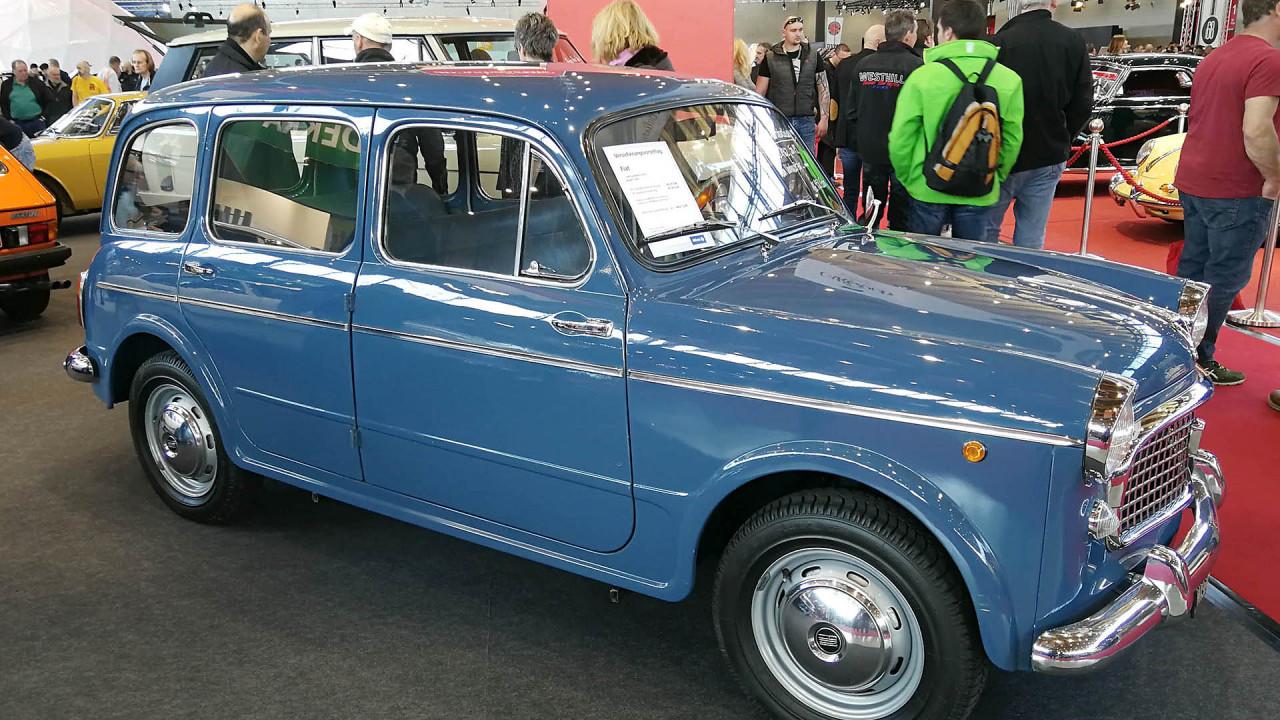 Retro Classics 2018: Fiat mit Nutzwert