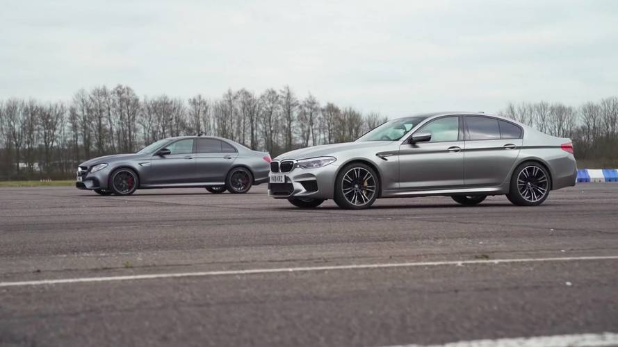 New BMW M5 Takes On Mercedes-AMG E63 S In Drag Race