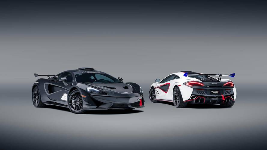 McLaren Builds 10 570S Coupes Inspired By Famous F1 GTR Race Car