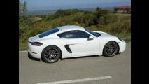 Porsche 718 Cayman, test di consumo reale Roma-Forlì 003