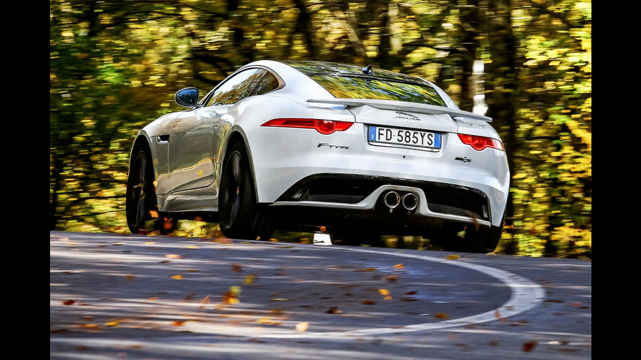 Drive in Italy   Futa e Raticosa, Jaguar F-Type 017