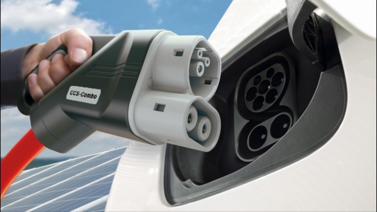 [Copertina] - Auto elettrica, maxi cordata per costruire le colonnine ultraveloci