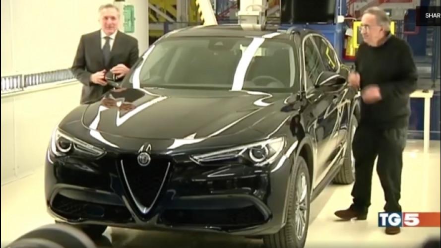 Alfa Romeo Stelvio, la versione normale scoperta dai telegiornali