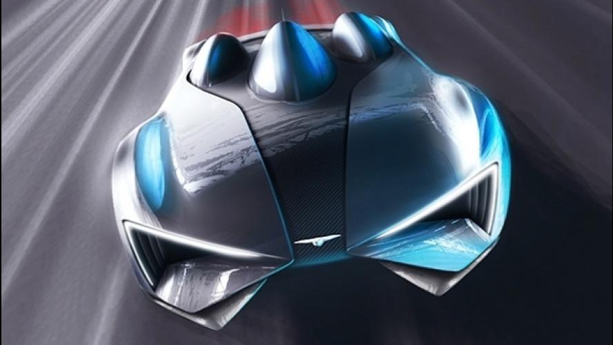 Techrules GT96, l'hypercar elettrica col cupolino