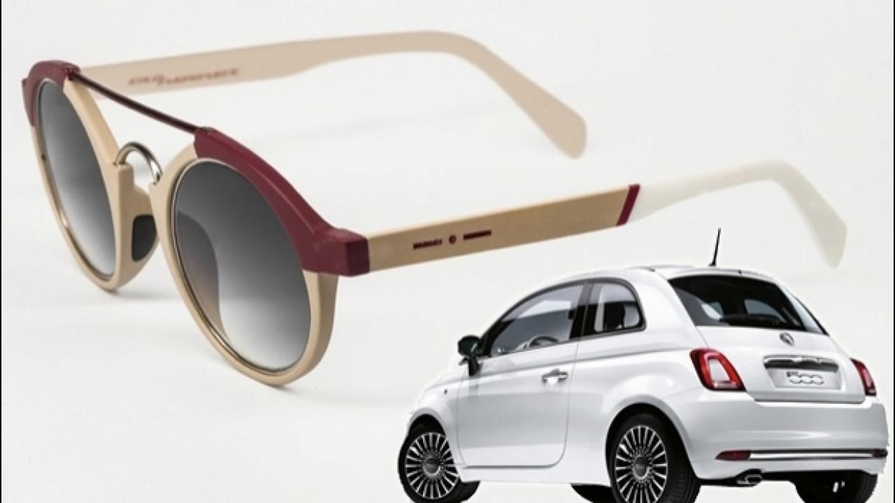[Copertina] - Fiat 500, la citycar si fa... occhiali da sole
