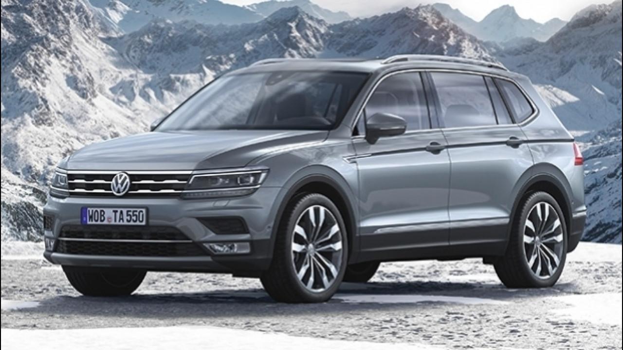 [Copertina] - Volkswagen Tiguan Allspace, il SUV allunga il passo